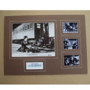 Kirk Douglas Signed & Mounted MOVIE Set - Last Train from Gun Hill